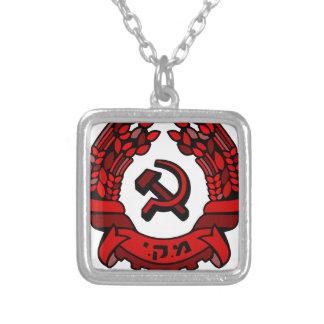Jamón del escudo de armas del Partido Comunista de Colgante Cuadrado