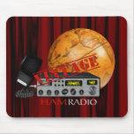 Jamón del vintage (radio) alfombrilla de ratón