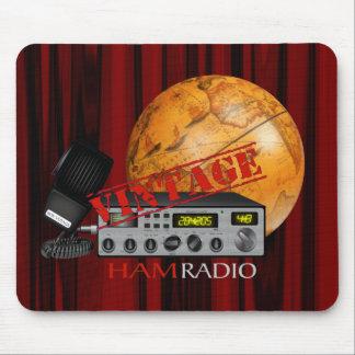 Jamón del vintage (radio) alfombrillas de raton