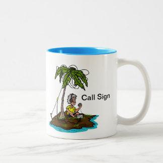 ¡Jamón en la isla con personalizar de la taza del