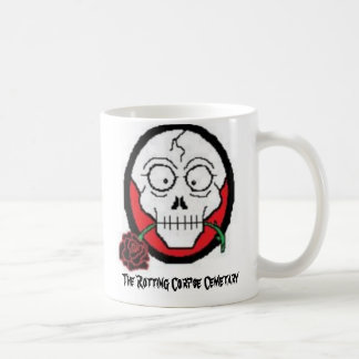 Jan21PIX02, The Rotting Corpse Cemetary Coffee Mug