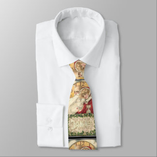 Jan 1st Old Father Time New Year Tie