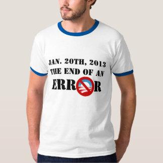 Jan. 20th, 2013 The End Of An Era T-shirt