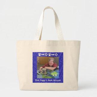 Jan and Elvis Large Tote Bag