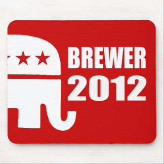 JAN BREWER 2012 MOUSE PAD