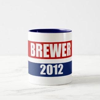 JAN BREWER 2012 Two-Tone COFFEE MUG