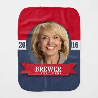 JAN BREWER 2016 BURP CLOTH