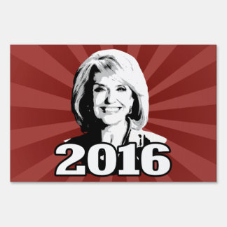 JAN BREWER 2016 CANDIDATE LAWN SIGN