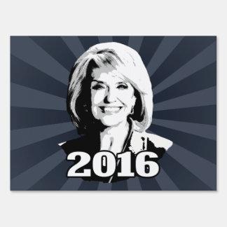 JAN BREWER 2016 CANDIDATE SIGNS