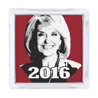 JAN BREWER 2016 CANDIDATE SILVER FINISH LAPEL PIN