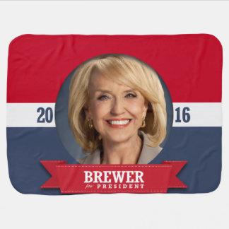 JAN BREWER 2016 STROLLER BLANKET