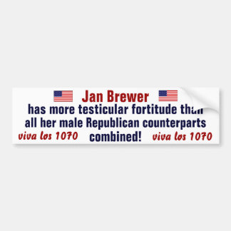 jan brewer bumper sticker