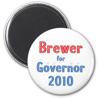 Jan Brewer for Governor 2010 Star Design Magnet