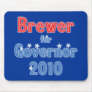 Jan Brewer for Governor 2010 Star Design Mouse Pad