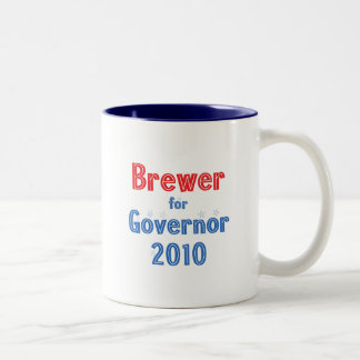 Jan Brewer for Governor 2010 Star Design Coffee Mugs
