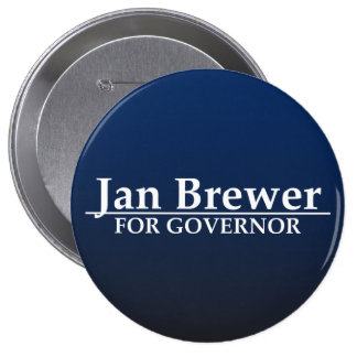 Jan Brewer for Governor Button