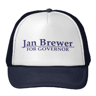 Jan Brewer for Governor Trucker Hat