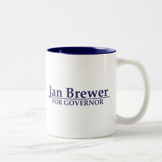 Jan Brewer for Governor Two-Tone Coffee Mug