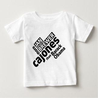 Jan Brewer More Cajones Than Barack Obama Baby T-Shirt