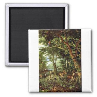 Jan Bruegel the Elder - Paradise Magnet