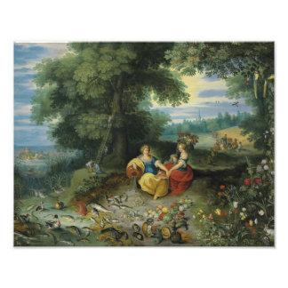 Jan Brueghel el más joven - una alegoría del agua Fotografías