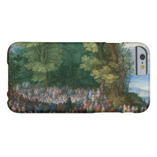 Jan Brueghel la anciano - el sermón de la montaña Funda Barely There iPhone 6