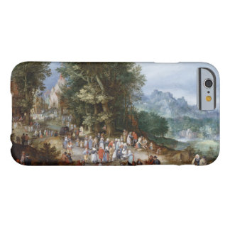 Jan Brueghel la anciano - feria flamenca Funda Barely There iPhone 6