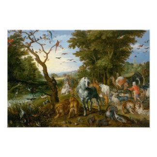 Jan Brueghel la anciano - la entrada de los Fotografía