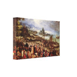 Jan Brueghel la anciano - la predicación de Cristo Lienzo Envuelto Para Galerias
