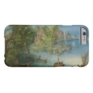 Jan Brueghel the Elder - River Landscape Barely There iPhone 6 Case