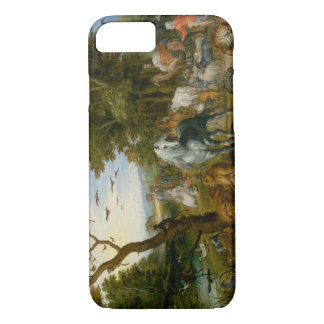 Jan Brueghel the Elder - The Entry of the Animals iPhone 8/7 Case