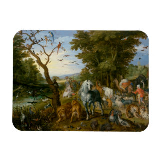 Jan Brueghel the Elder - The Entry of the Animals Magnet