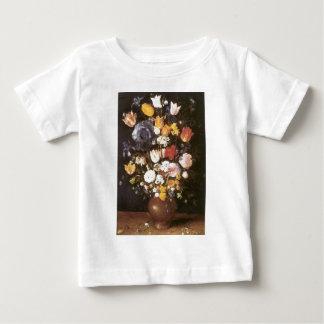 Jan Brueghel the Elder Vase Of Flowers Baby T-Shirt