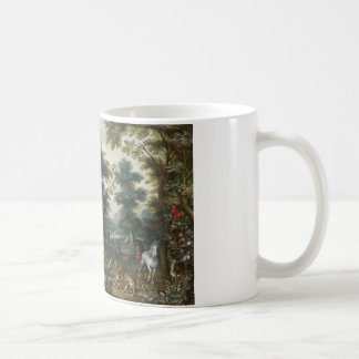 Jan Brueghel the Younger - Paradise Landscape Coffee Mug