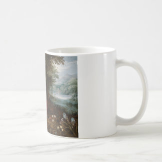 Jan Brueghel the Younger - The Rest on The Flight Coffee Mug