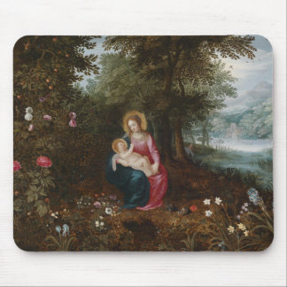 Jan Brueghel the Younger - The Rest on The Flight Mouse Pad