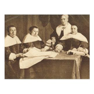 Jan de Braij, Regentes  des Enfants Pauvres Postcard