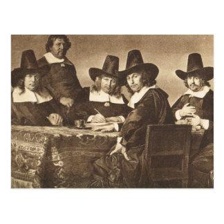 Jan de Braij, Regents  des Enfants Pauvres Postcard