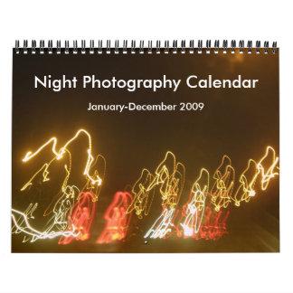 Jan-Dec 2009 Night Photo Calendar