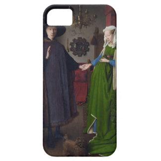 Jan Eyck- The Arnolfini Wedding iPhone 5 Covers