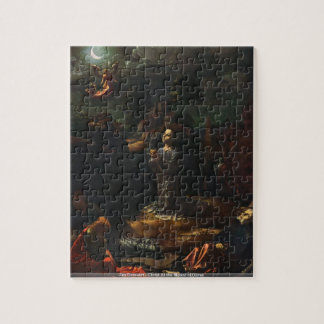 Jan Gossaert - Christ At the Mount of Olives Jigsaw Puzzle