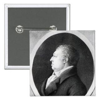 Jan Ladislav Dussek 2 Inch Square Button