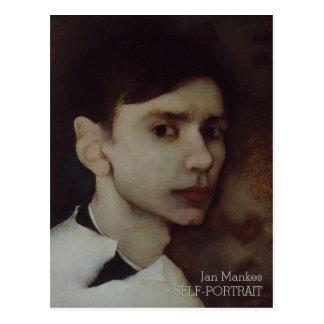 Jan Mankes Self-portrait CC0689 Postcard