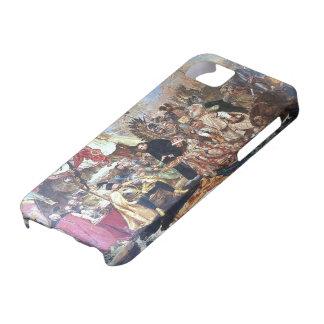 Jan Matejko- Bathory at Pskov iPhone 5 Cases