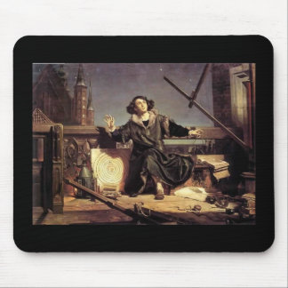Jan Matejko - Copernicus Conversation With God Mouse Pad