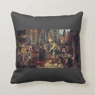 Jan Matejko- The Constitution of the 3rd May 1791 Pillows