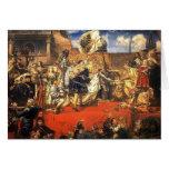 Jan Matejko- The Prussian Homage Greeting Card