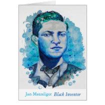 Jan Matzeliger- Black Inventor Note Card