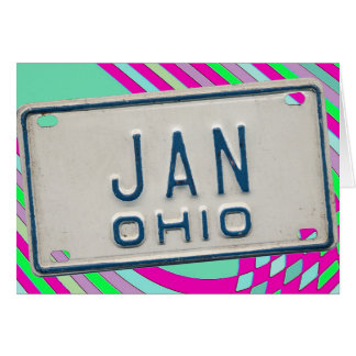 JAN OHIO CARD