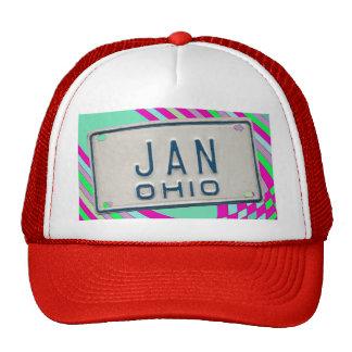 JAN OHIO TRUCKER HAT